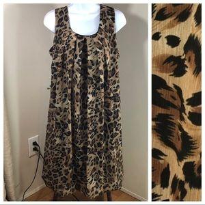 En Focus ~ Animal Print Tent Dress